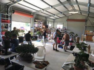 1st day of workshops for Fraser Coast