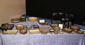 A few of Viv's pots that were for sale, but you needed to be quick!